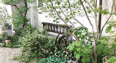 我が家の庭ツアーの画像